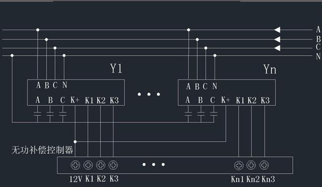 产品概述 HDFK系列智能复合开关 (简称复合开关)分为共补开关HDFK-0.4G)和分补开关(HDFK-0.4F)两种,共补用于投切三相电容,采用接法;分补开关用于投切单相电容,采用Y形接法。 复合开关选用晶闸管开关和磁保持开关并联运行,其在接通和断开的瞬间具有可控硅过零投切的优点,正常接通期间又具有磁保持开关零功耗的优点。复合开关具有无冲击、低功耗、高寿命等显著优点,可替代接触器或晶闸管开关,广泛用于低压无功补域。 技术特点 1.